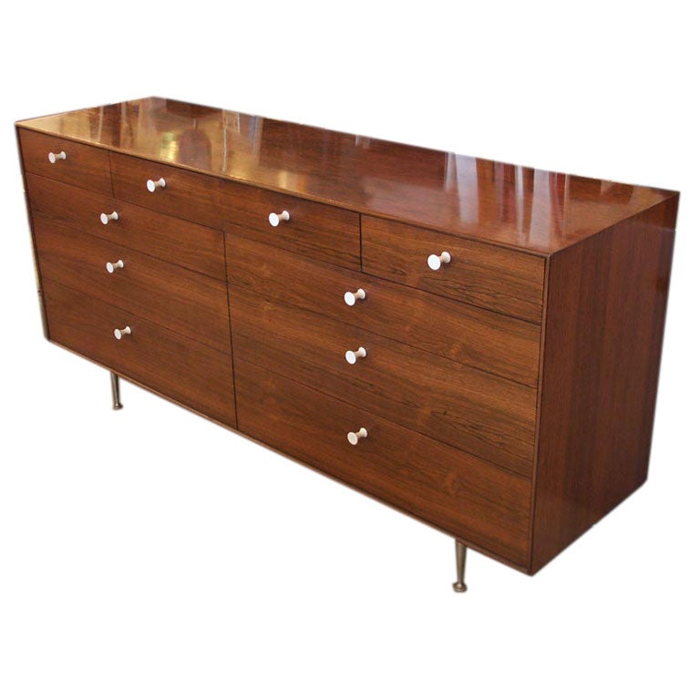 George Nelson Thin Edge Dresser with 10 Drawers