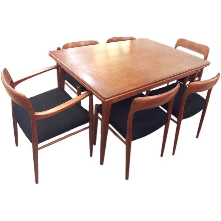 Extension Dining Table Set Milo Baughman Polished Chrome  : moellerdiningset from www.amlibgroup.com size 768 x 768 jpeg 48kB