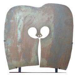 Massive Bronze Gong by Harry Bertoia