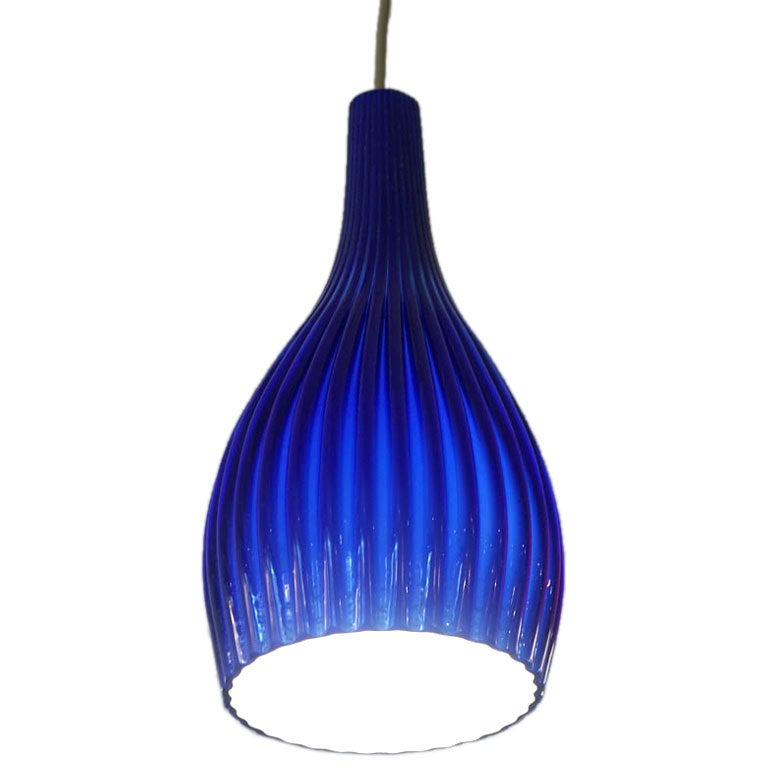 one of a group of colorful murano glass pendant lamps at 1stdibs. Black Bedroom Furniture Sets. Home Design Ideas