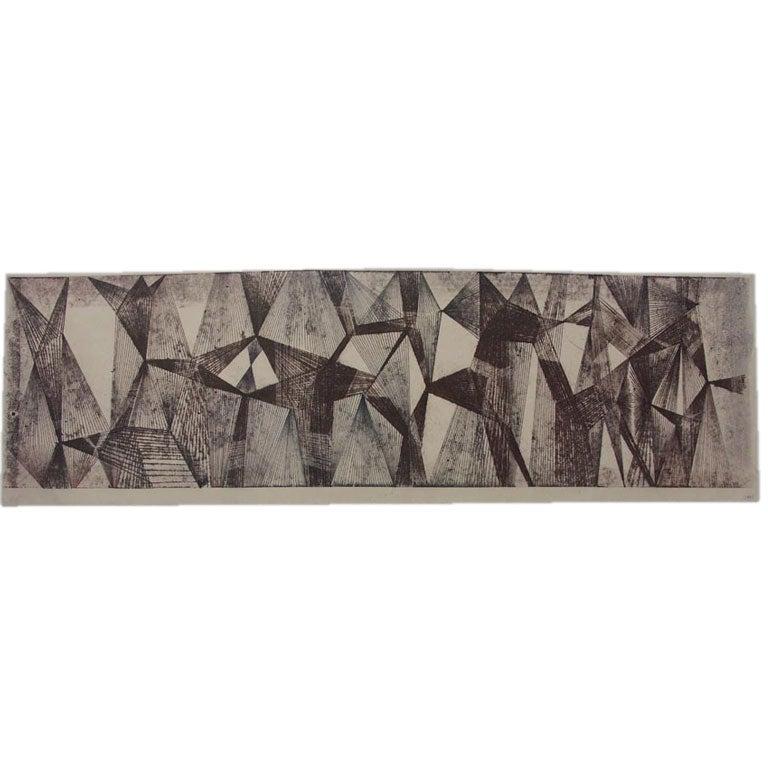 Harry Bertoia Monoprints  1