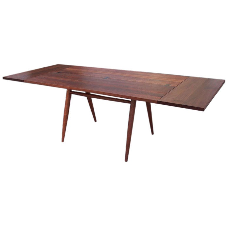 Black Walnut Extension Dining Table by George Nakashima : nakashimaextended from 1stdibs.com size 768 x 768 jpeg 21kB