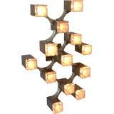 Constructivist CUBIC Sconce by Lightolier