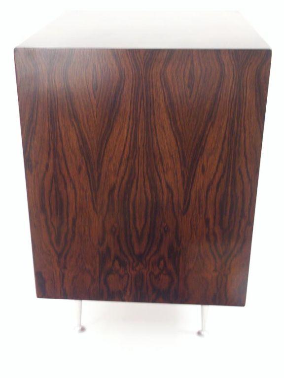 Mid Century George Nelson Rosewood Thin Edge Open Storage