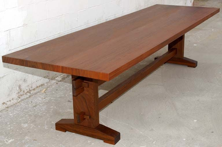 Outdoor Dining Table with Style in Weatherproof Solid Ipe  : tt6aa from www.1stdibs.com size 768 x 511 jpeg 39kB