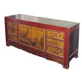 Lacquered Chinese Sideboard.