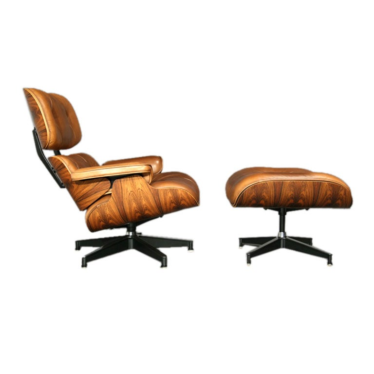 Classic 670671 lounge chair and ottoman by Charles Eames