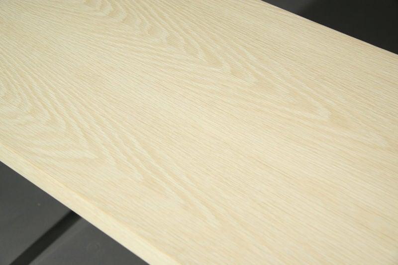 Small Bleached Oak Desk by Hans Wegner For Sale 3