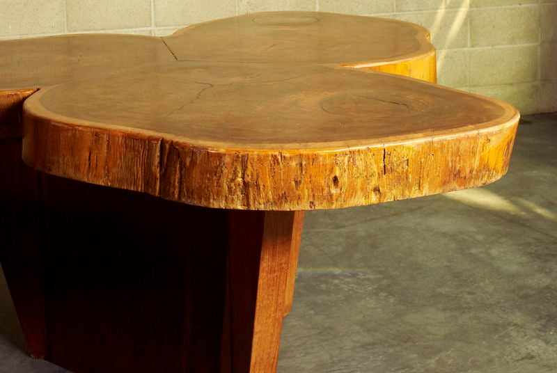 Vinhatico Wood Dining Table by José Zanine Caldas In Good Condition For Sale In Hollywood, CA