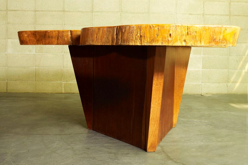 Late 20th Century Vinhatico Wood Dining Table by José Zanine Caldas For Sale