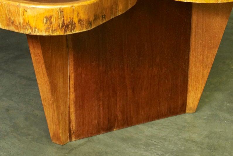 Vinhatico Wood Dining Table by José Zanine Caldas For Sale 1