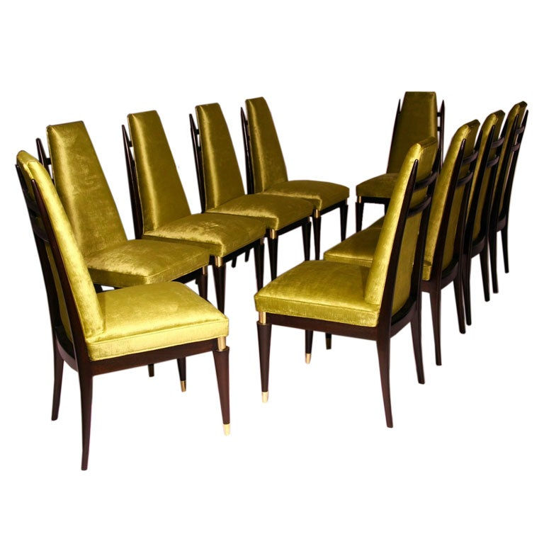 for Dining room velvet chairs