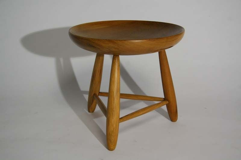 Quot Mocho Banco Quot Milk Stool In Peroba Wood By Sergio
