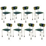 Set of 8 Broadway Chair / Gaetano Pesce