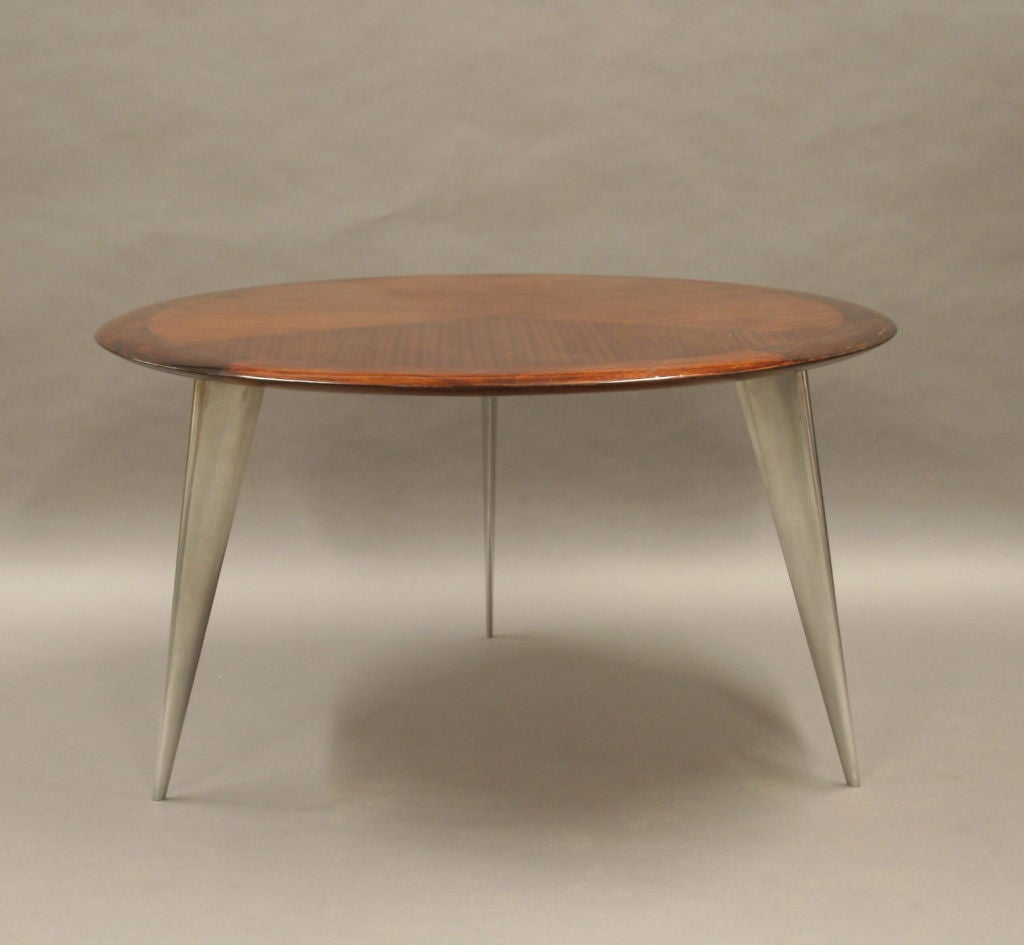 Round dining table by philippe starck for driade circa for Philippe starck glass table