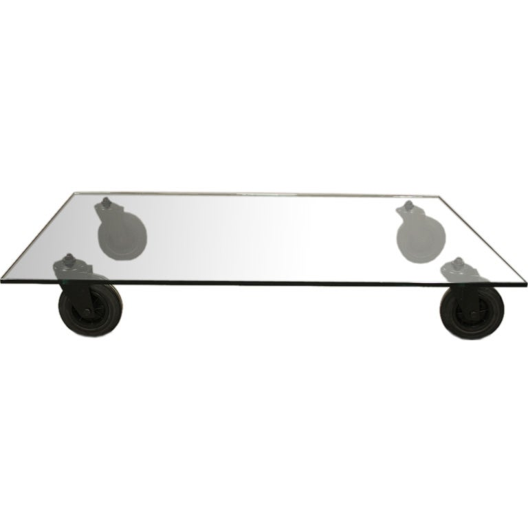 Coffee Table Designed By Gae Aulenti For Fontana Arte At 1stdibs
