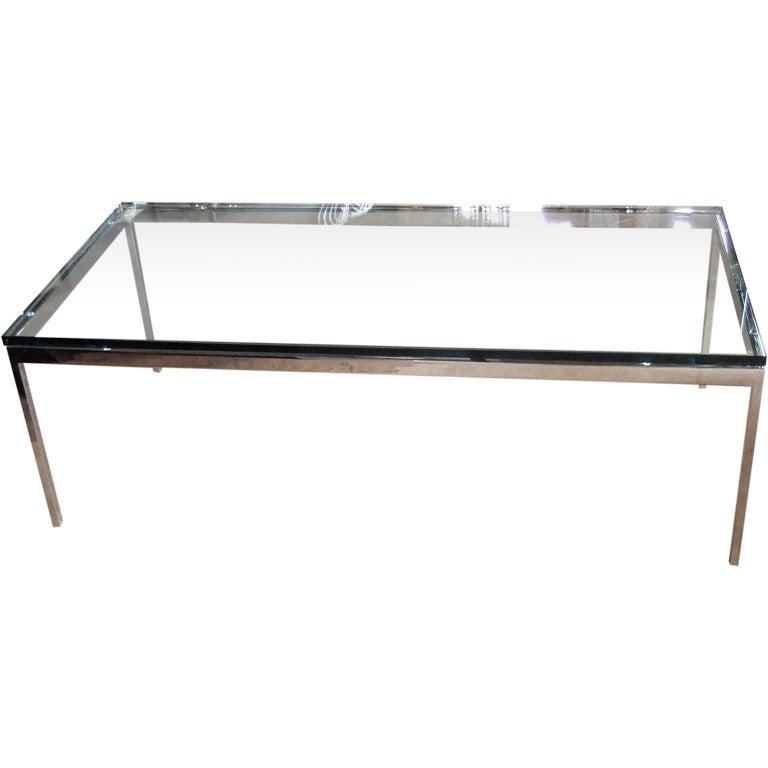 - Florence knoll rectangular coffee table ...