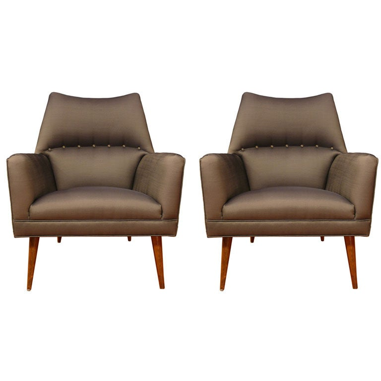 Pair of IFD Original Chairs at 1stdibs