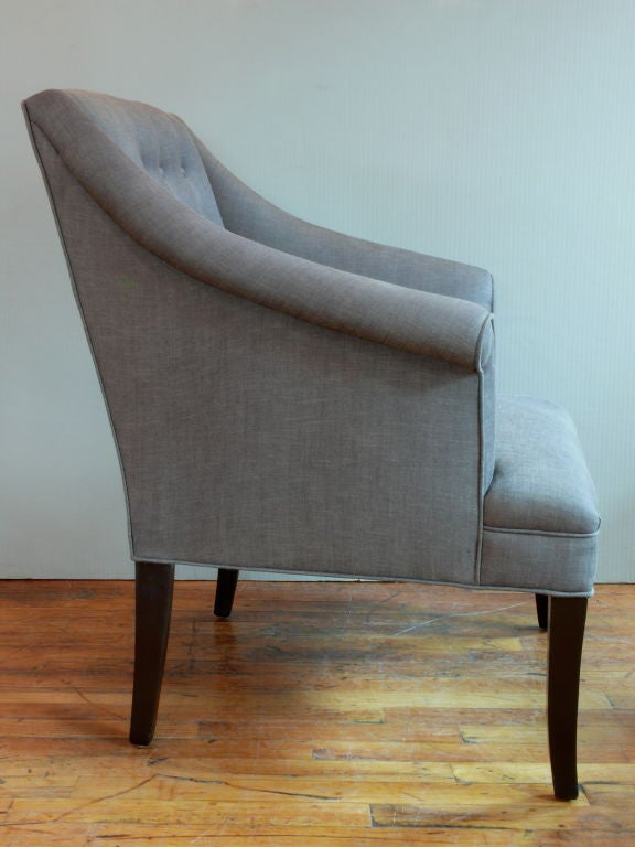 Mid century modern tufted chairs at 1stdibs for Mid century modern furniture new york