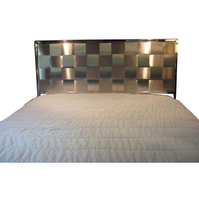 Brass Metal Bed Frame