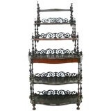 An Beautifully Carved Etagere