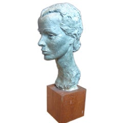 Fine Bust of Clare Boothe-Luce