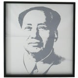 Sunday B. Morning Mao by Andy Warhol