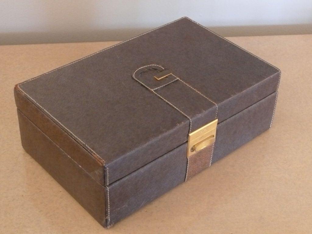 4ffe7b6c98ad Italian Gucci Jewelry Box For Sale