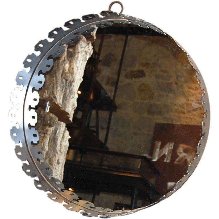 round mirror For Sale