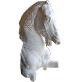 Dramatic Horse Head Sculpture 1
