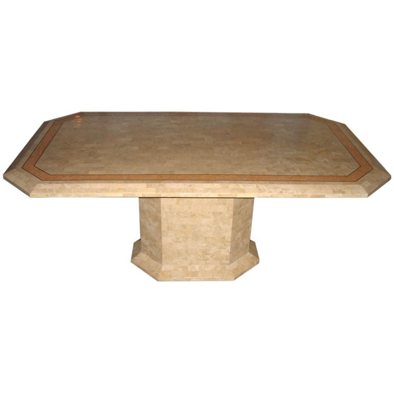 Maitland Smith Tesselated Stone Dining Table At 1stdibs