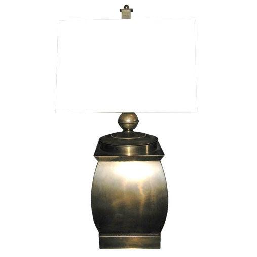 Vintage Brass Frederick Cooper Table Lamp