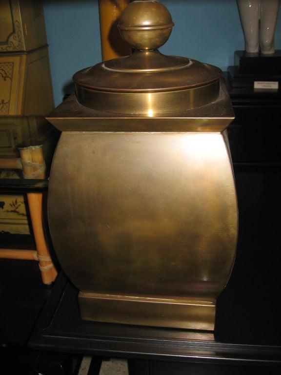 Vintage Brass Frederick Cooper Table Lamp image 4