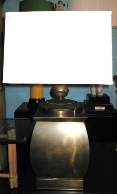Vintage Brass Frederick Cooper Table Lamp image 5