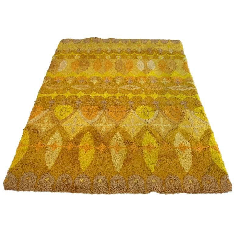 Cynthia Sargent Mid Century Modern Carpet Rug At 1stdibs