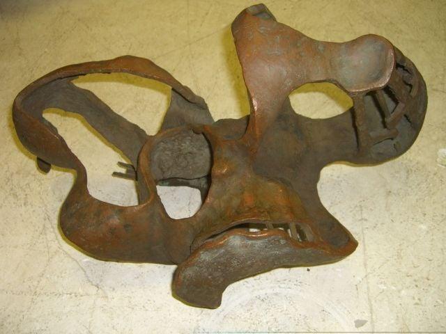 Abstract Bronze Sculpture 4