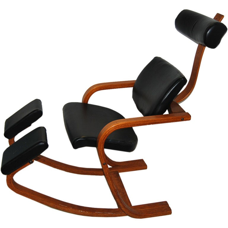 Sculptural Ergonomic Chair At 1stdibs