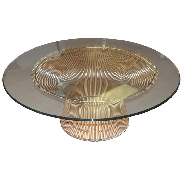 this warren platner for knoll coffee table is no longer available