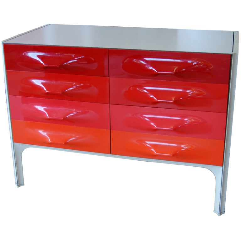 GREAT RAYMOND LOEWY CHEST at 1stdibs