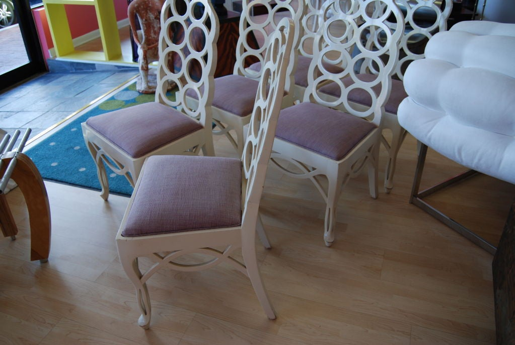 Frances Elkins Dining Chairs At 1stdibs