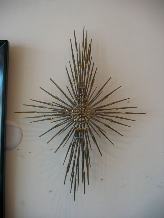 Flat Head  Iron Nail Sculpture 5