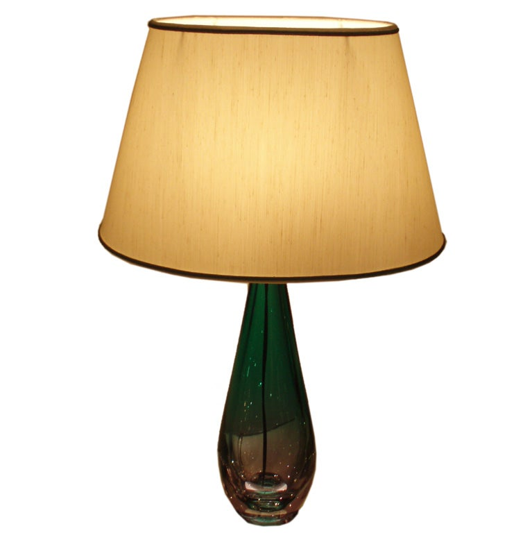 this a mid century hand blown murano glass table lamp is no longer. Black Bedroom Furniture Sets. Home Design Ideas