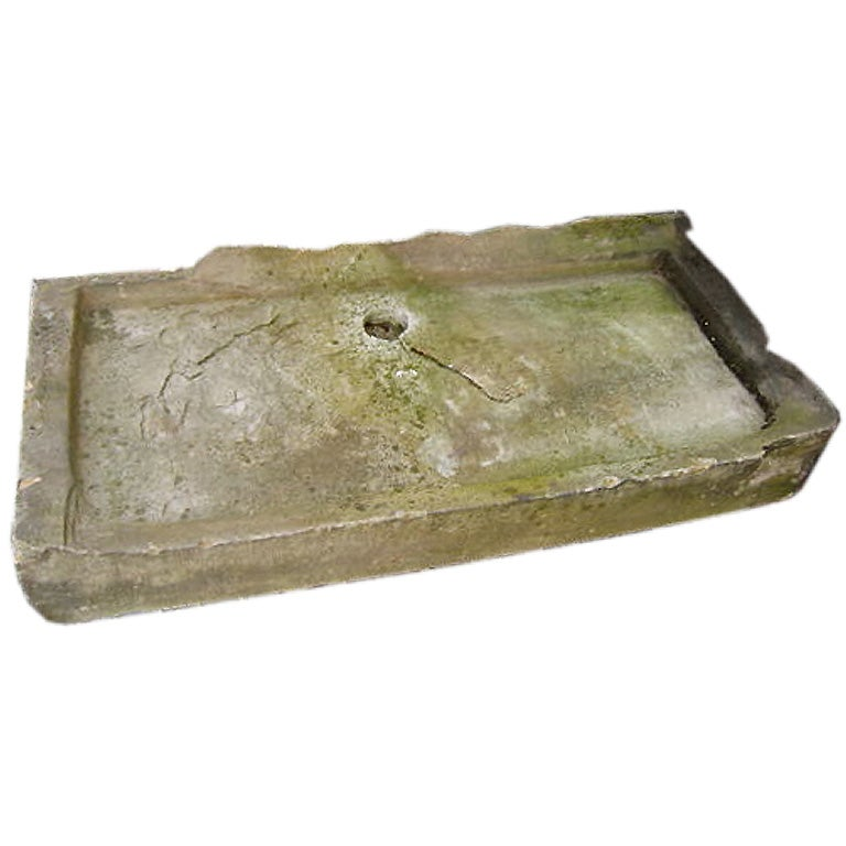 Stone Sink Garden : This 19thC English Garden Sink is no longer available.