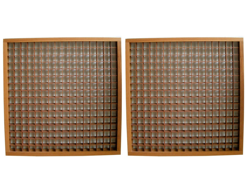 2 japanese window screens at 1stdibs for Window screens for sale