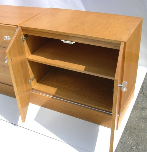 Late 20th Century Milo Baughman Cabinet for Thayer Coggin For Sale