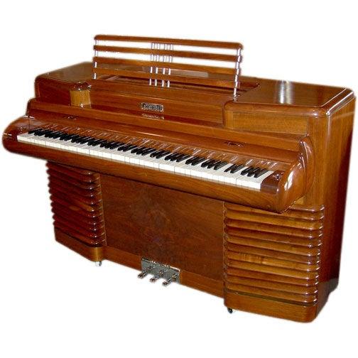 Art Deco RCA 1939 Electric Piano by John Vassos For Sale