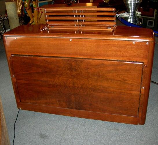 Nickel Art Deco RCA 1939 Electric Piano by John Vassos For Sale