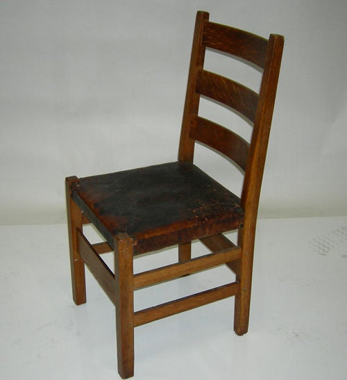 gustav stickley craftsman dining set at 1stdibs