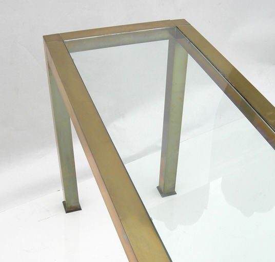 Mid century 9 foot console at 1stdibs for 5 foot console table