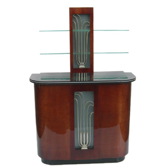 restored deco front and back bar at 1stdibs